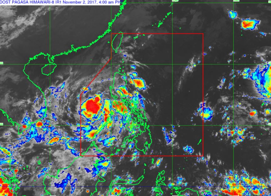 'Bagyong Ramil' PAGASA weather update November 2, 2017