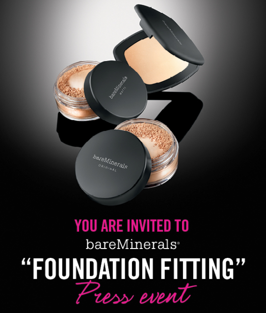 Foundation Fitting bareMinerals