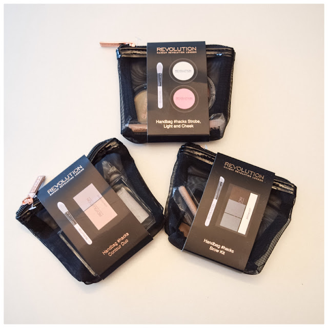 Strobe Light and Cheek, Contour Duo e Brow Kit