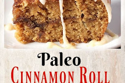 PALEO CINNAMON ROLL COFFEE CAKE