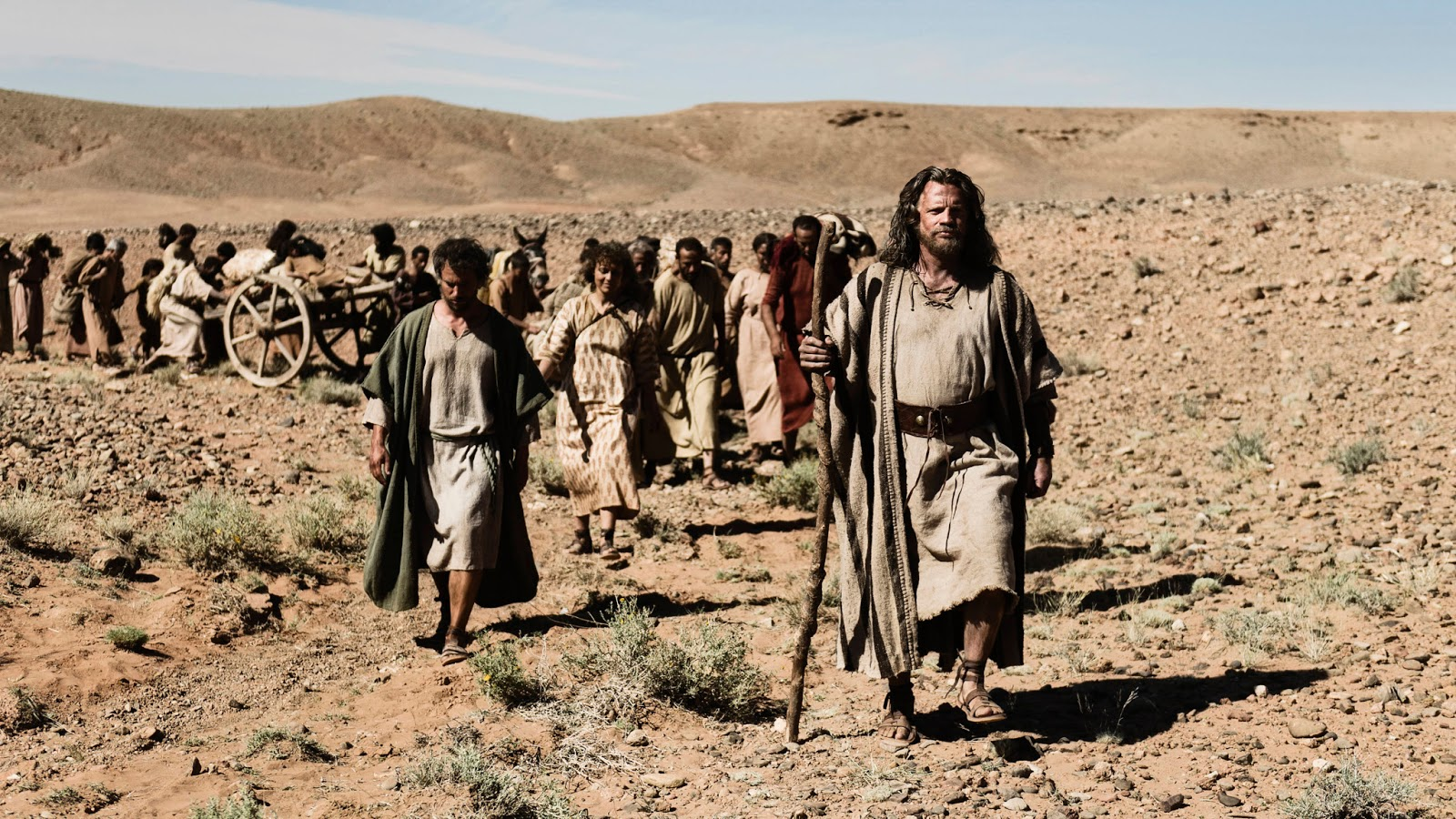 Moses_Bible_Exodus - The Bible 2013 epic miniseries screenshot