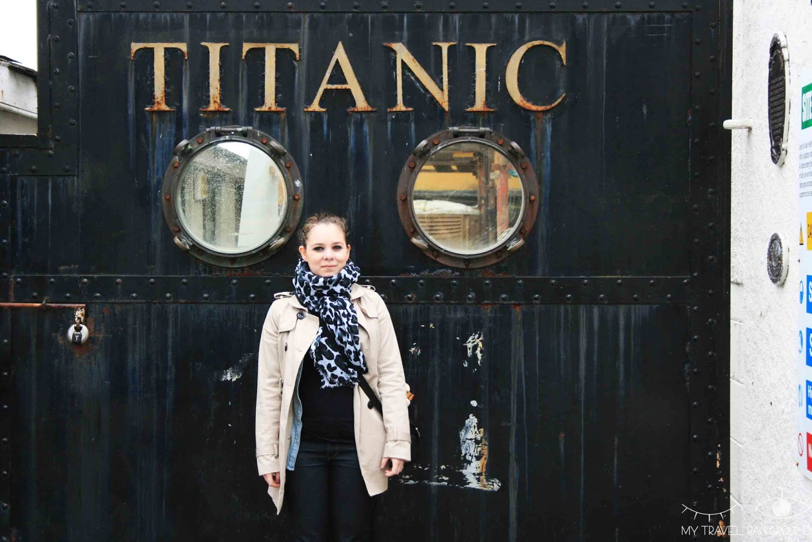 My Travel Background : un jour à Belfast, en Irlande du Nord - Le Titanic