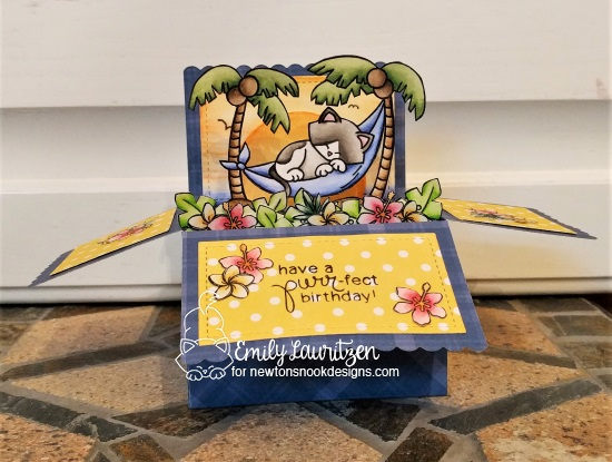 Have a purr-fect birthday by Emily features Newton's Aloha, Toucan Party, and Newton's Birthday Bash by Newton's Nook Designs; #newtonsnook