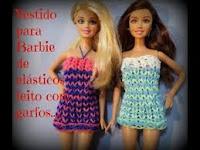 omo Fazer Um  Vestido Com Elásticos Para Barbie
