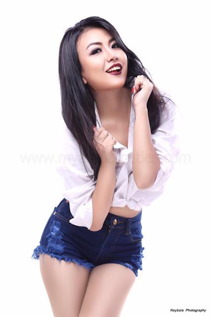 Myanmar First Miss Jewel Princess Khin May Kha