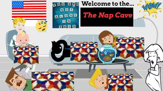 Sleepy American's Nap Cave