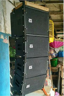 Sound system mini gantung