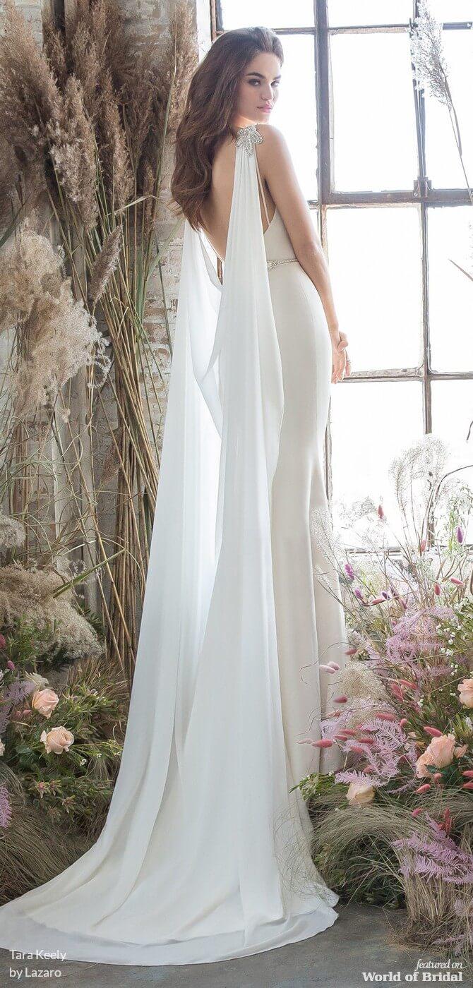 0cea6fb03183 Lazaro Pink Floral Wedding Dress