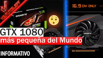 gtx 1080, GeForce GTX 1080 Mini ITX 8G, GeForce, gráfica mas pequeña