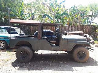 Dijuwal  Jeep Klasik CJ6 Long 1982 , Mesin Diesel Hidup...