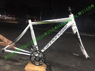 Frame Roadbike Cannondale Alloy Fork Carbon Size 48