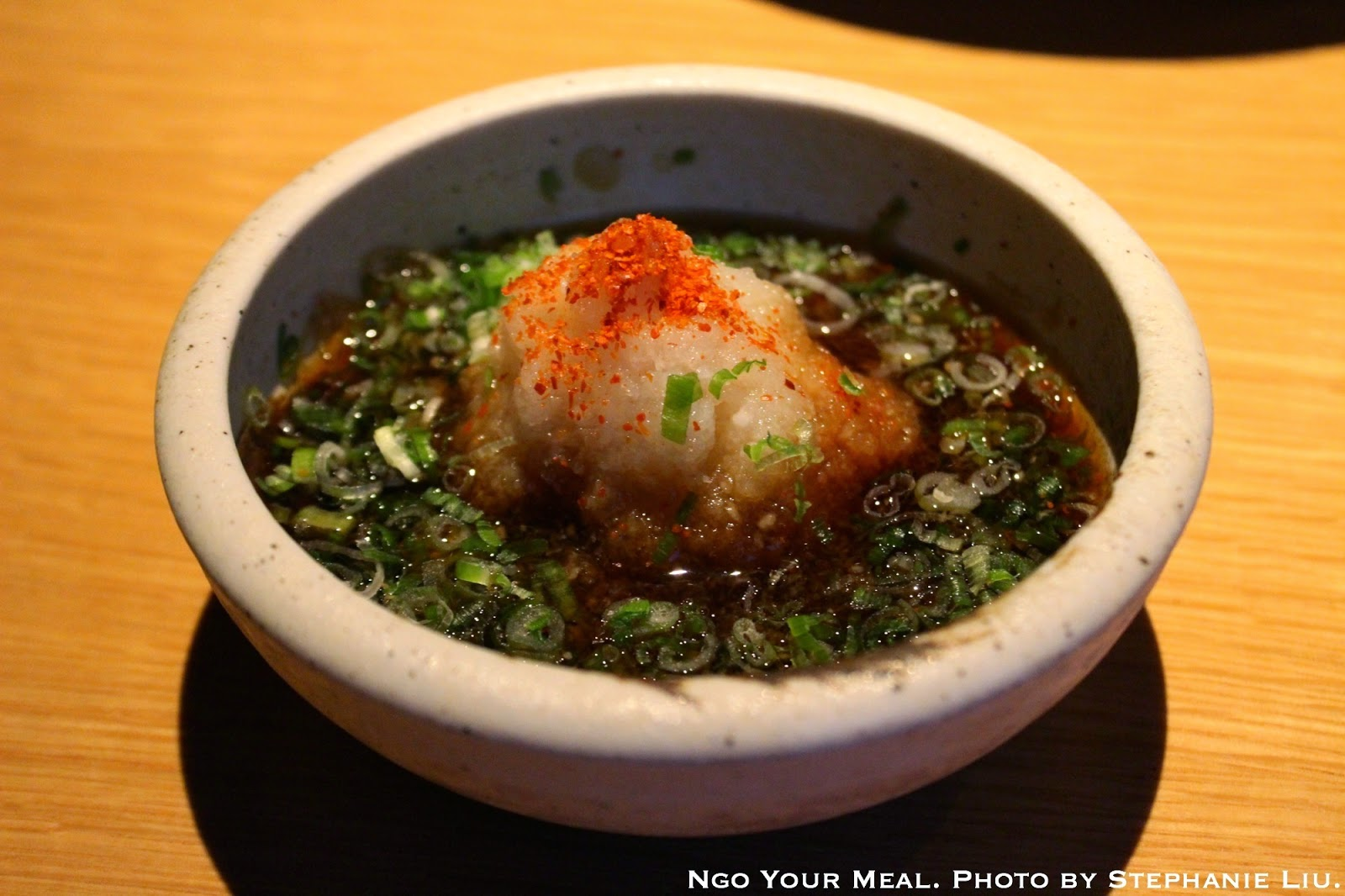 Spicy Ponzu Sauce for the Karei Kara Age at EN Japanese Brasserie
