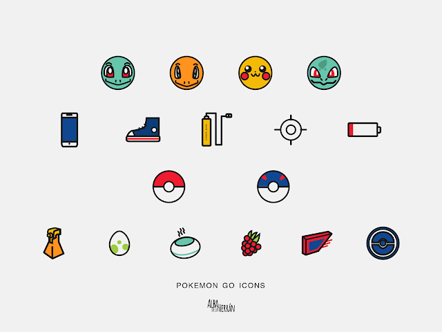pokemon go icon library