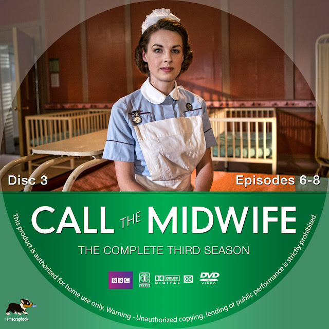 Call The Midwife Season 3 Disc 3 DVD Label