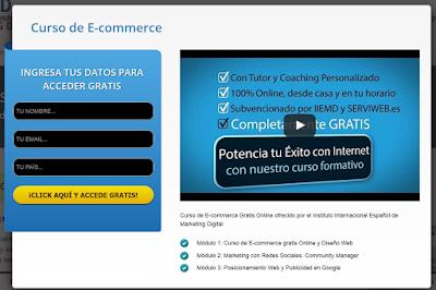 E-commerce, comercio electronico, curso gratis