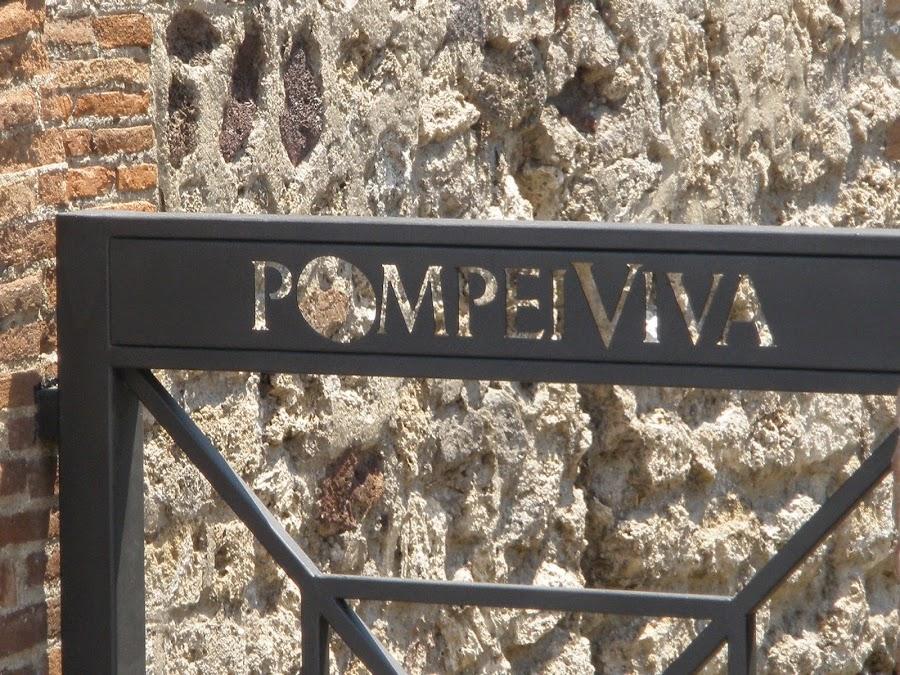 Pompeya, antigua ciudad de Roma, sepultada por la erupción del volcán Vesubio en el año 79 d.c.