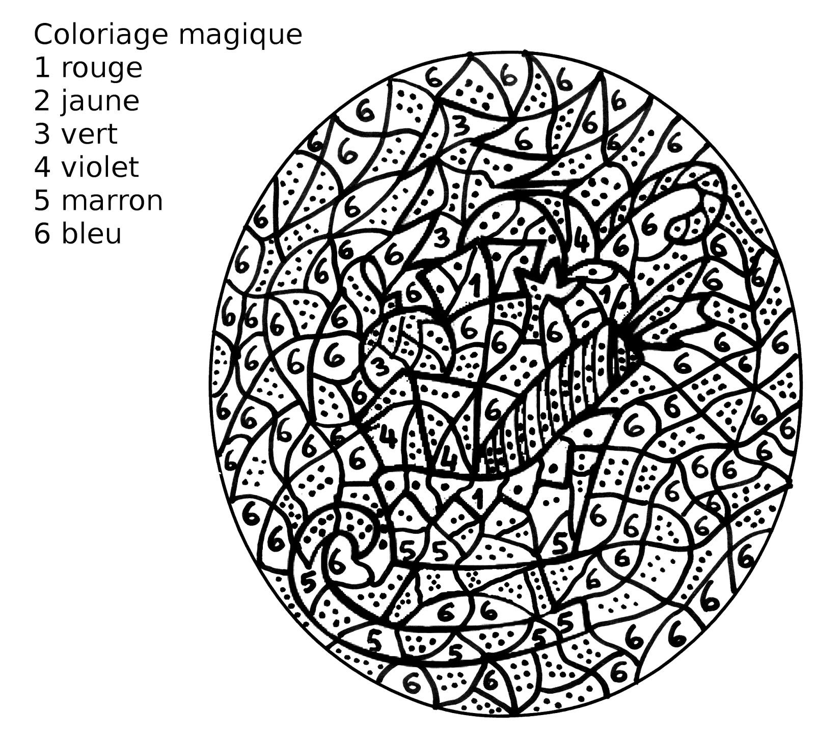 Coloriage Magique De Noel.Maternelle Coloriage Magique Un Traineau De Noel