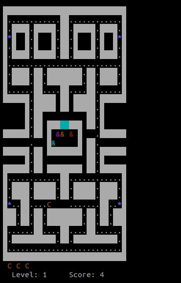 Gioco-Pacman4Console
