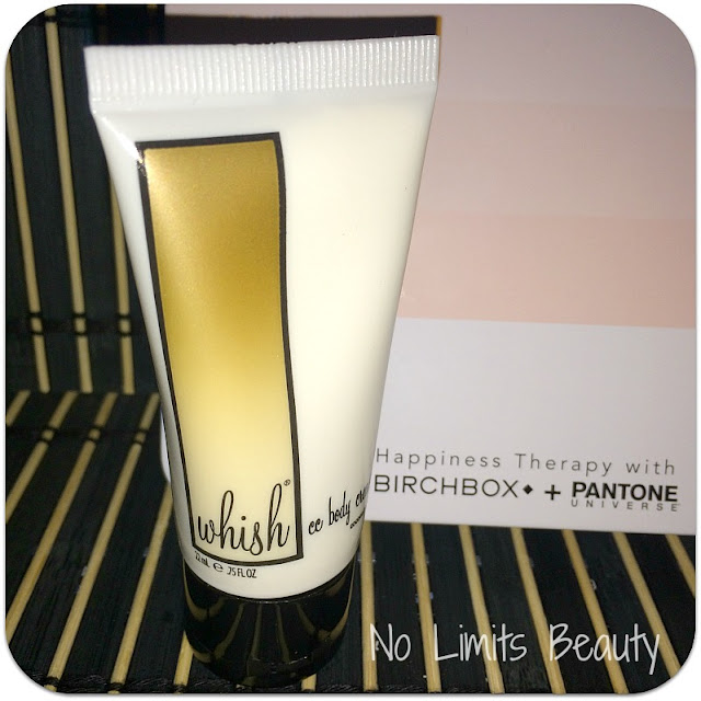 BirchBox Abril 2016 - Whish CC Body Cream - Coconut Milk