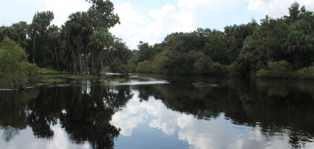 Peace River a su paso por Zolfo Springs