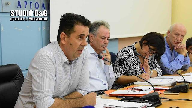 Αναβάλλεται ο Απολογισμός της Δημοτικής Άρχης στο Δημοτικό Συμβούλιο Ναυπλιέων