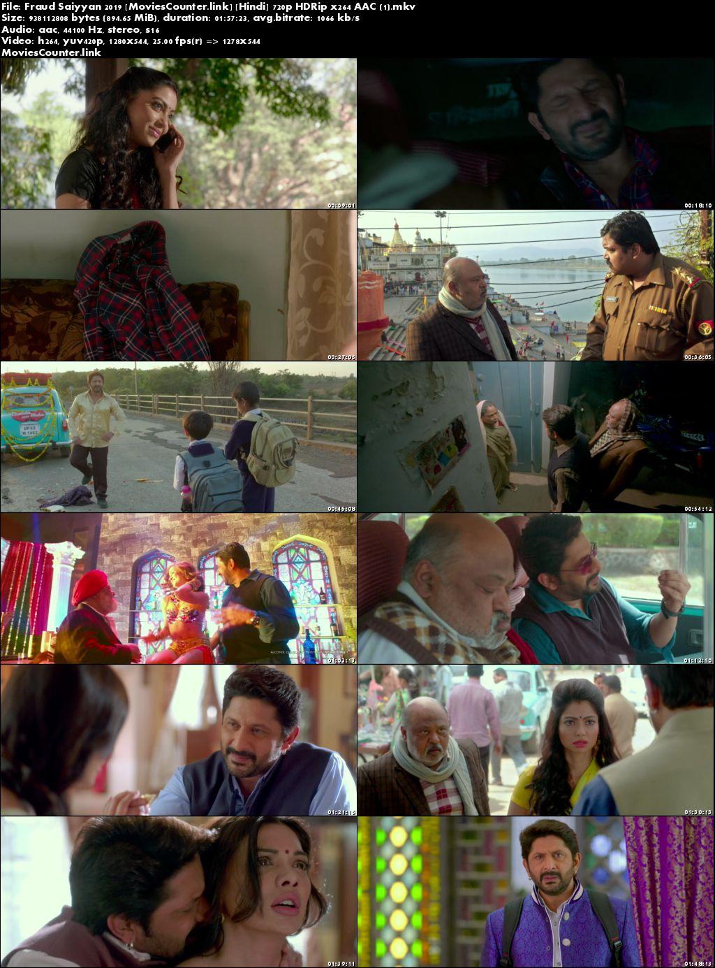 Screen Shots Fraud Saiyyan 2019 Hindi HD 720p