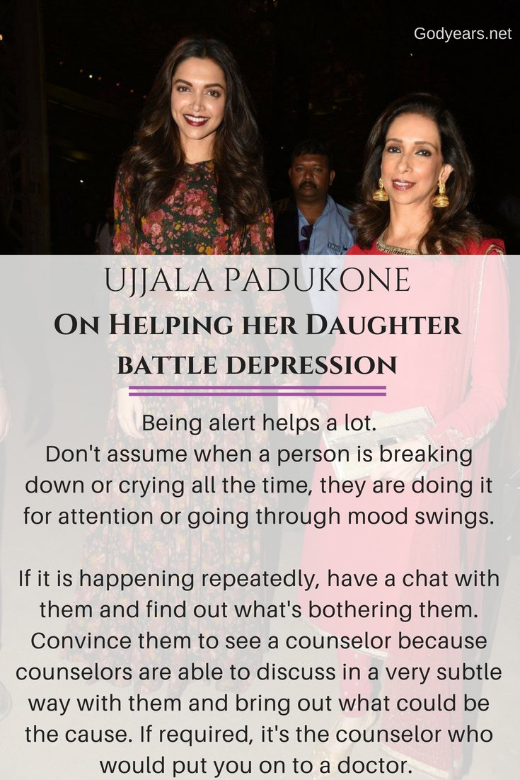 Suicide Prevention: Bollywood actress Deepika Padukone and her mother Ujjala talks on her battle with depression
