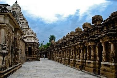 Travel Journey to Kanchipuram in India