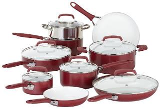 WearEver C943SF Non-Stick Ceramic Cookware Set