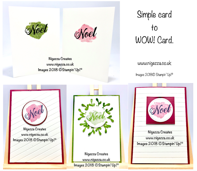 Simple to WOW! Peaceful Noel Christmas Cards Nigezza Creates