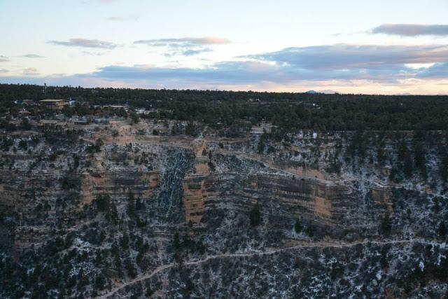 Grand Canyon South Rim December