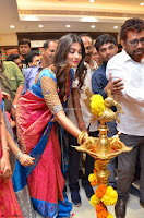 Puja Hegde looks stunning in Red saree at launch of Anutex shopping mall ~ Celebrities Galleries 025.JPG