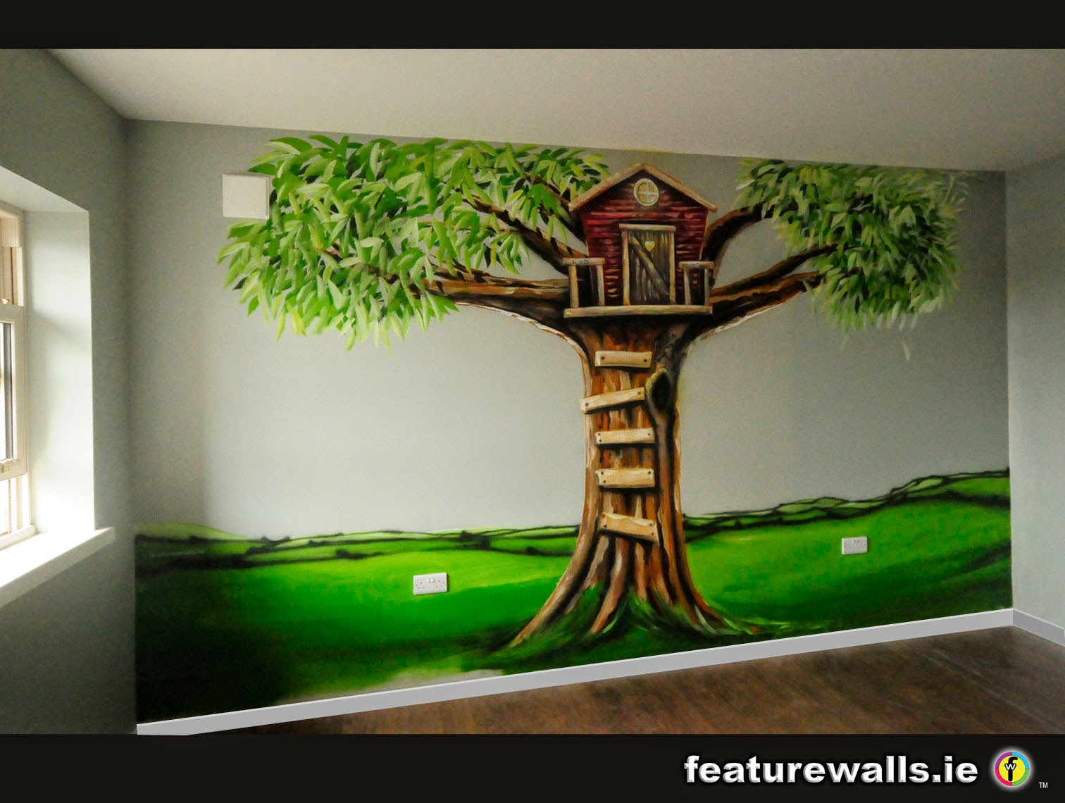Mural Painting Professionals Featurewalls.ie: Hand Painted