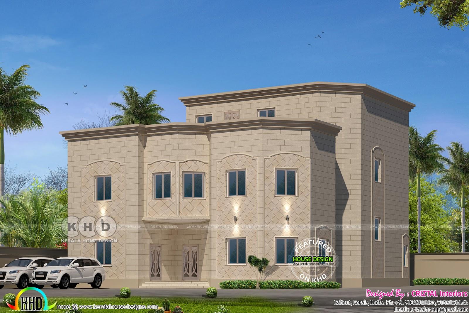 Gulf Model Home Design Kerala Home Design And Floor Plans