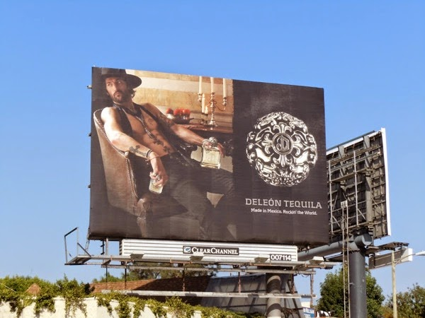 DeLeon Tequila Tony Ward billboard Oct 2010