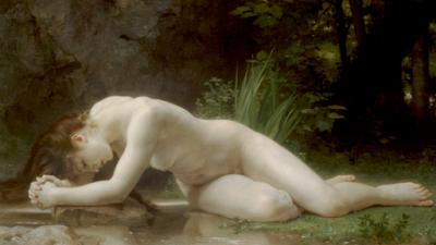 Incrível reprodução artística, da Eva bíblica.