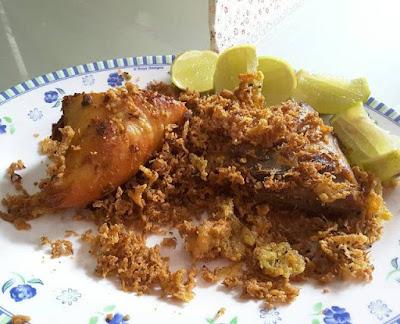 Resep Ayam Goreng Kremes Ala Mbok Berek