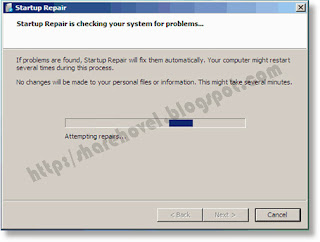 Cheking Your Sistem for Problem - Mengatasi Bootmgr is Missing di Windows  7 by Sharehovel