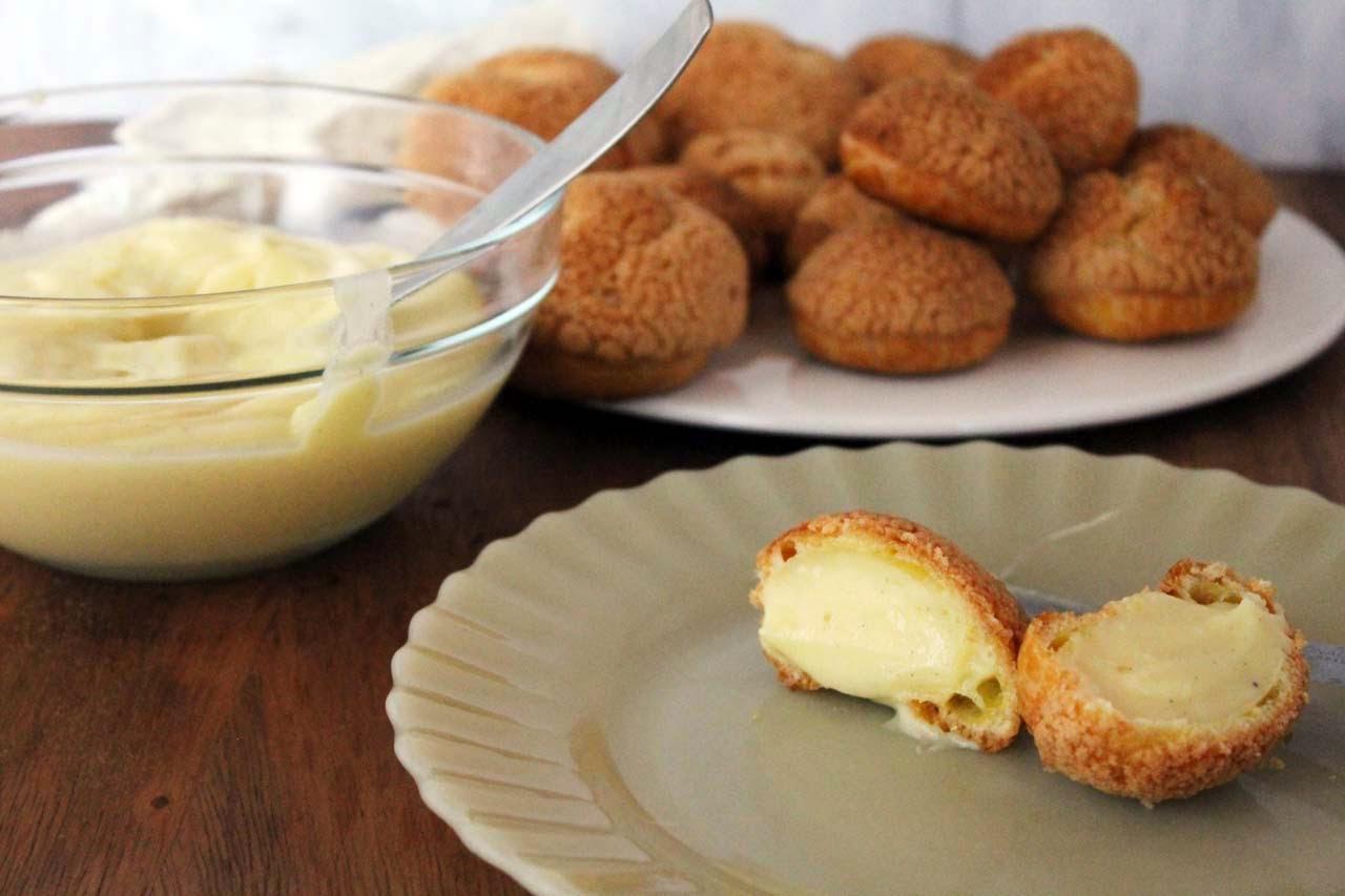 Bombitas Crema Pastelera