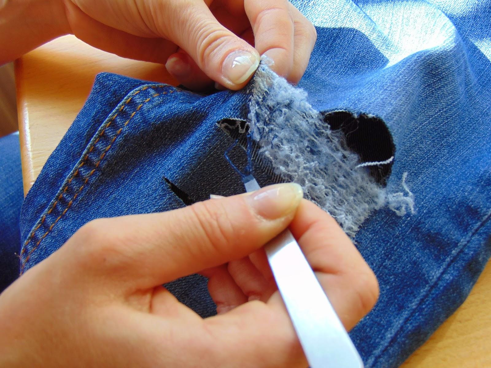 Berühmt DIY- Gestalte deine eigene Ripped-Jeans - Stylingkitchen @LO_75