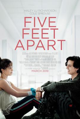 Five Feet Apart (A Dos Metros De Tí) 2019 DVD R1 NTSC Latino