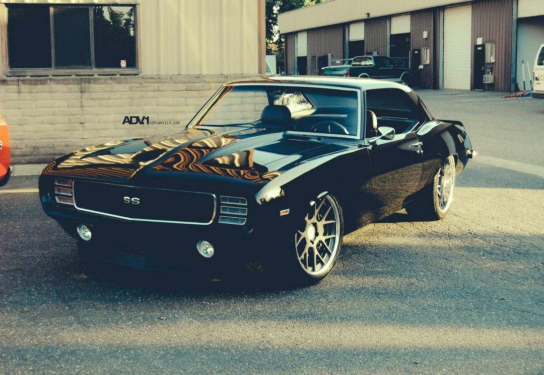 Classic 1969 Chevrolet Camaro Ss Wallpaper Aiinshahri