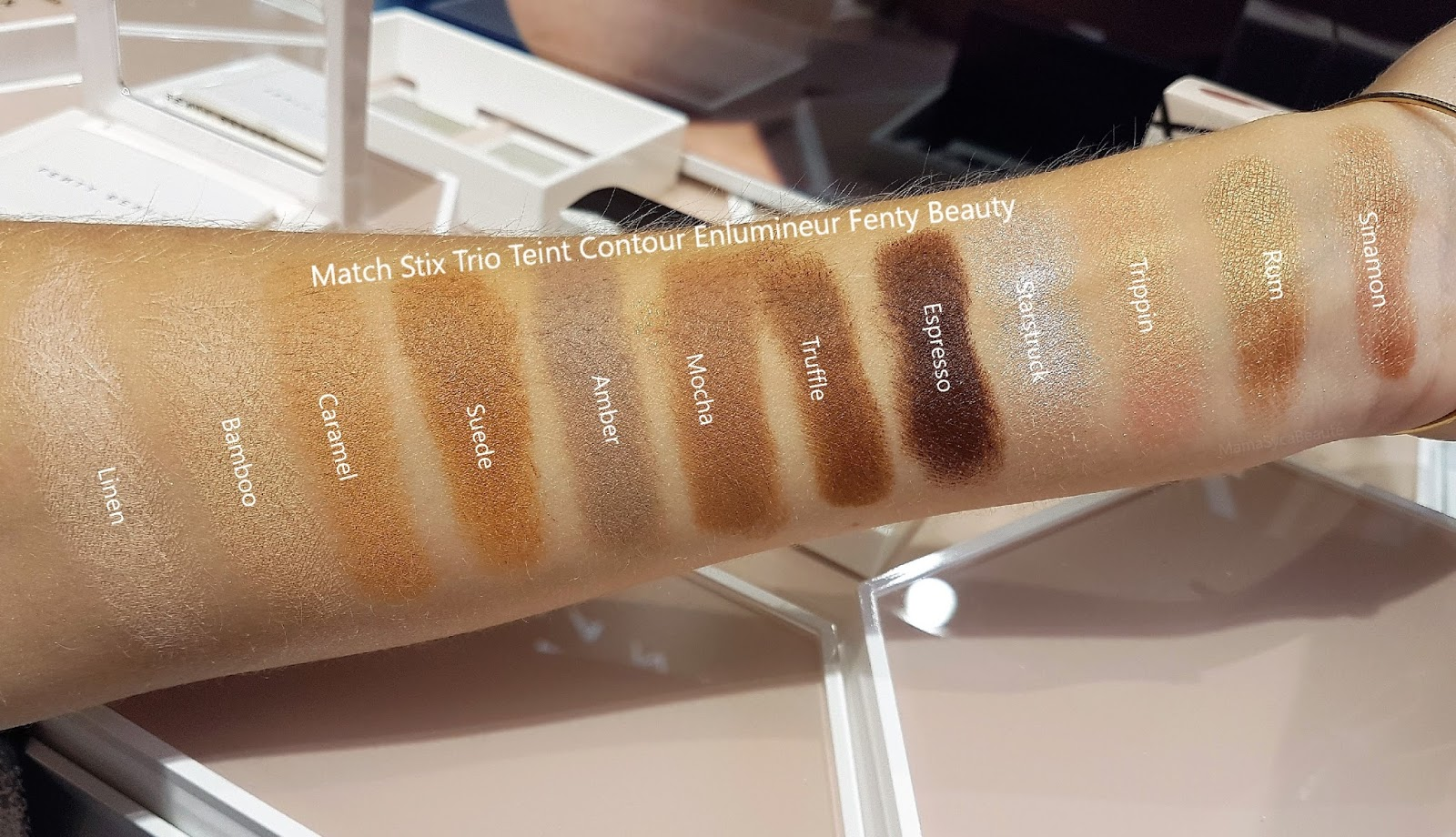 revue-fenty-beauty-match-stix-swatch_sephora_code_promo_mama_syca_beaute