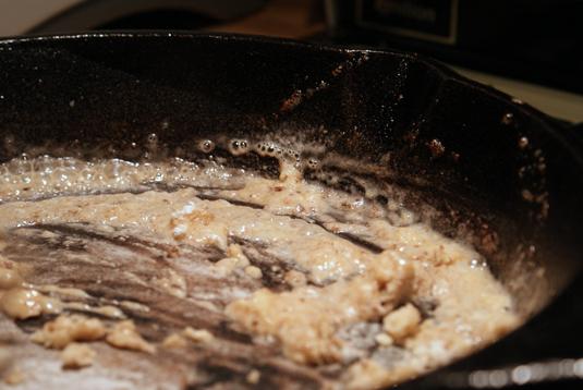 Roux for pan gravy