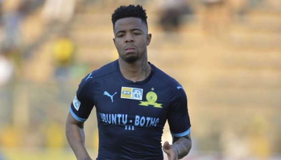 Mamelodi Sundowns winger George Lebese