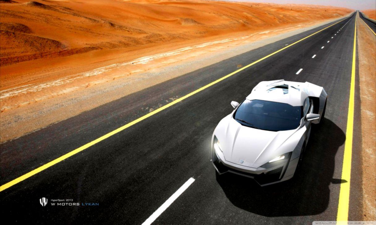 W Motors Lykan Supercar Hd Wallpaper Wide | Top Wallpapers