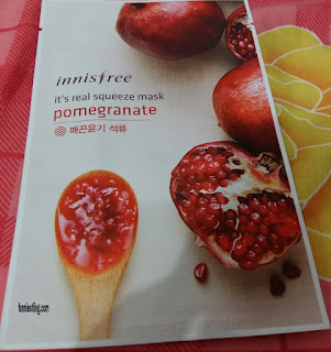 Innisfree Sheet Mask Varian Pomegranate