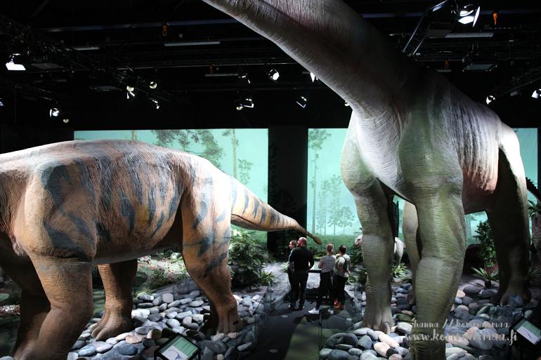 tiedekeskus heureka dinosaurusnäyttely