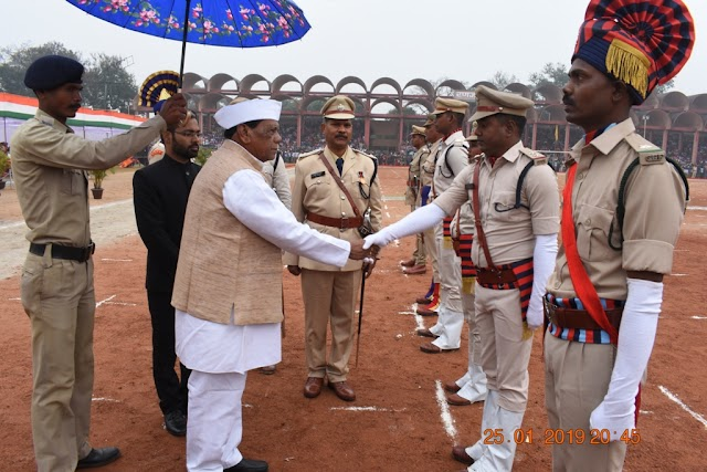 बदला जशपुर के रणजीता का इतिहास,विधायक रामपुकार सिंह ने ध्वजारोहण कर ली परेड की सलामी।