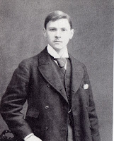 photo of the author somerset maugham about 17